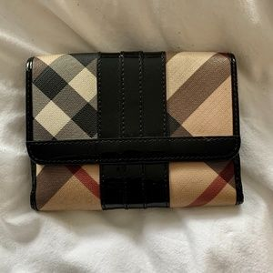 "Burberry ""Nova Check"" Wallet"